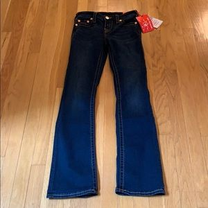 True Religion NWT BECCA Mid Rise Bootcut